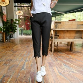 Slit Capri Pants 1052832106