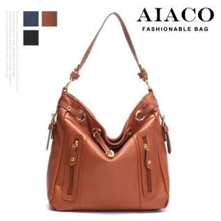 Picture of AIACO Faux-Leather Shoulder Bag 1021530387 (AIACO, Shoulder Bags, Korea Bags, Womens Bags, Womens Shoulder Bags)
