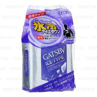 Mandom - Gatsby Ice-Type Deodorant Body Paper (Ice Fruity) 30 pcs 1053897545