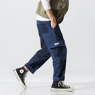 Color Block Cargo Pants
