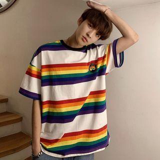 Blueforce Short-Sleeve Striped T-Shirt