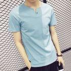 Plain Short-Sleeve T-Shirt 1596