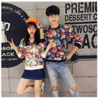 Matching Couple Floral Print Pullover от YesStyle.com INT