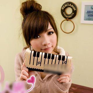 Piano Keyboard Print Wallet 1023099715