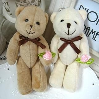 Set of 4: Bear Doll