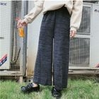 Knit Straight-Leg Pants 1596