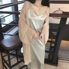 Plain Midi Strappy Dress 1596