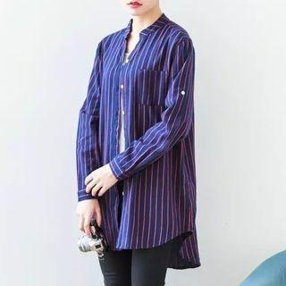Striped Long Shirt 1056862318