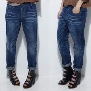 Picture of MoDN Washed Jeans 1023064620 (MoDN Pants, South Korea Pants)