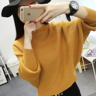 Ribbed Knit Top 1055110677
