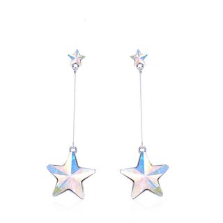 Swarovski Elements Crystal Star Drop Earring 1063954351
