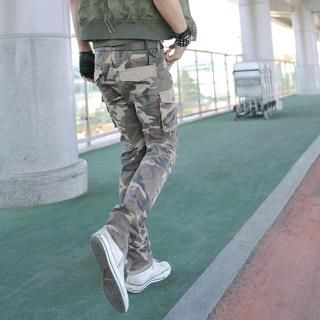 Buy moscod Camouflage Print Cargo Pants 1022829037