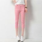 Cropped Skinny Pants 1596