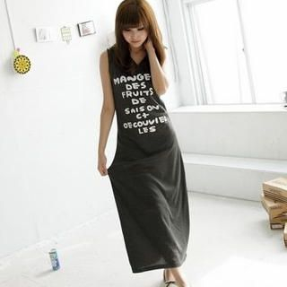Picture of BAIMM Hooded Print Long Tank Dress 1023029913 (BAIMM Dresses, Womens Dresses, China Dresses, Hooded Dresses)