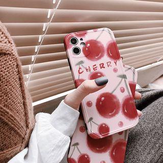 Image of Cherry Print Mobile Case - iphone 7 / 8 /7plus / 8plus / X / XS / XS Max / XR /11/11 Pro/11 Pro Max