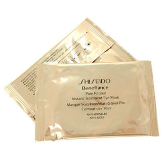 Picture of Shiseido - Benefiance Pure Retinol Instant Treatment Eye Mask 12 pairs (Shiseido, Skincare, Face Care for Men, Mens Scrubs & Masks)
