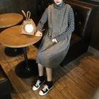 Sleeveless Knit Dress 1596