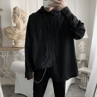 Image of Hooded Shirt