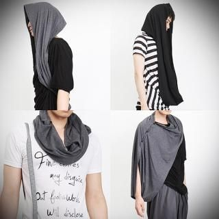 Buy Peeps Buttoned Scarf 1023053765