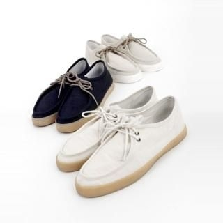 Buy ITSBOY Lace-Up Loafers 1022796528