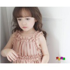 Kids Frilled Strappy Dress 1596