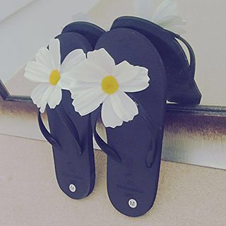 Flower Flip-Flops 1048754914