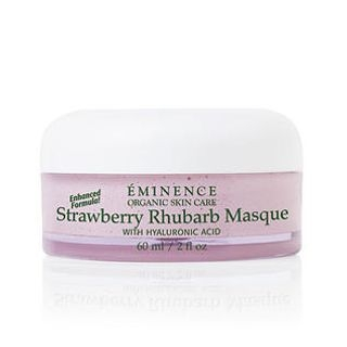 Strawberry Rhubarb Masque with Hyaluronic Acid