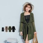 Set: Long Camisole + Open Front Cardigan 1596