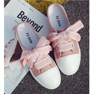 Image of Bow Accent Sneakers