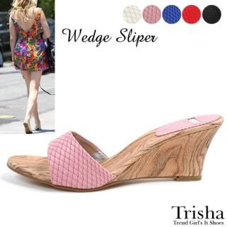 Picture of Trisha Wedge Mules 1022871583 (Other Shoes, Trisha Shoes, Korea Shoes, Womens Shoes, Other Womens Shoes)