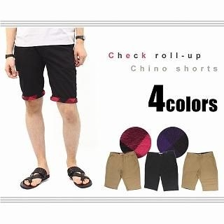 Buy Full Life Check-Lining Shorts 1023060479