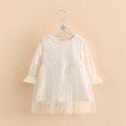 Kids Embellished Lace Dress 1596