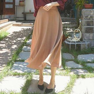 Band-Waist Long Skirt 1062055139