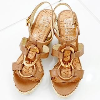 Buy Miss Hong T-Strap Platform Sandals 1022999442