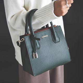 Faux Leather Mini Handbag 1055109064