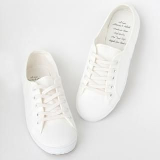 Buy VIPSGIRL Lace-Up Canvas Sneakers 1021965070