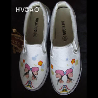Picture of HVBAO  Twin Sisters  Slip-Ons 1020381827 (Slip-On Shoes, HVBAO Shoes, Taiwan Shoes, Womens Shoes, Womens Slip-On Shoes)