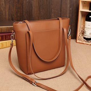 Faux-Leather Tote 1060882657