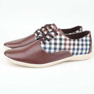 Picture of BSQT Checkered Print Sneakers 1023071167 (Sneakers, BSQT Shoes, Taiwan Shoes, Mens Shoes, Mens Sneakers)