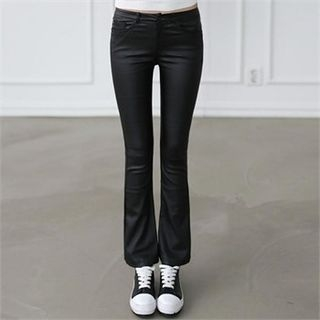 Coated Boot-Cut Pants 1053842374