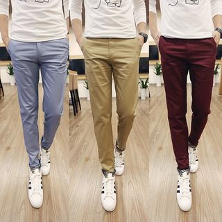 Straight Fit Pants 1050868001