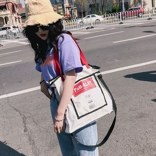 Lettering Tote Bag 1066417958