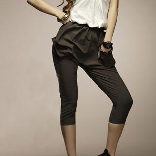 Buy I'Miusa Drape-Pocket Cropped Pants 1023037758