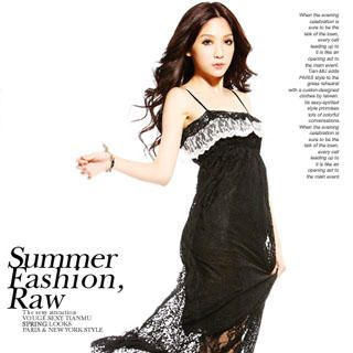 Buy Tian Mu Lace Maxi Dress 1022848695