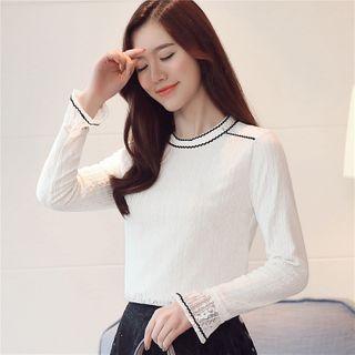 Long-sleeve | Fleece | Lace | Top