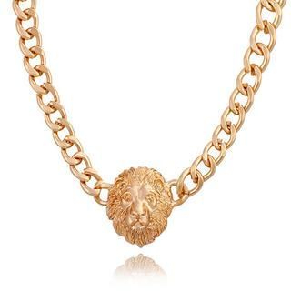 Product Image of Lion Head Chain Necklace
