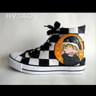 Cartoon Characters High-Top Canvas Sneakers от YesStyle.com INT
