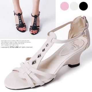 Buy STYLE LINE T-Strap Wedge Sandals 1022860919