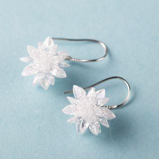 Image of Bridal Flower Drop Earrings
