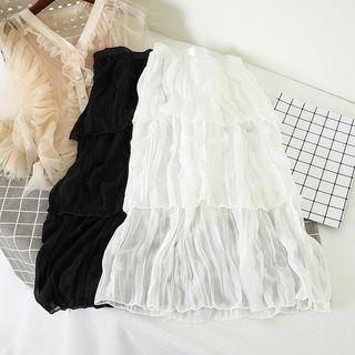 Image of Layered Midi Dress